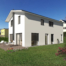 Gebäudevisualisierung Einfamilienhaus